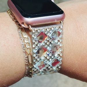 Jewelry - Super bling band fits I-watch
